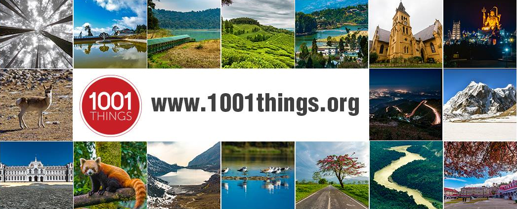 1001 Things about North Bengal, North East India and Bhutan