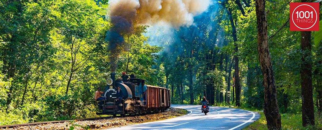 1001 things-Darjeeling Himalayan Railway
